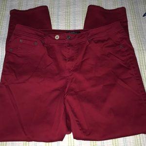 Roz & Ali Red Jeans 1536